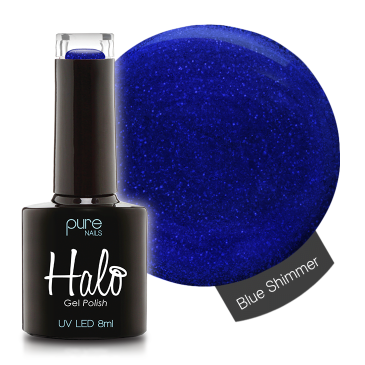 Halo 8ml Blue Shimmer