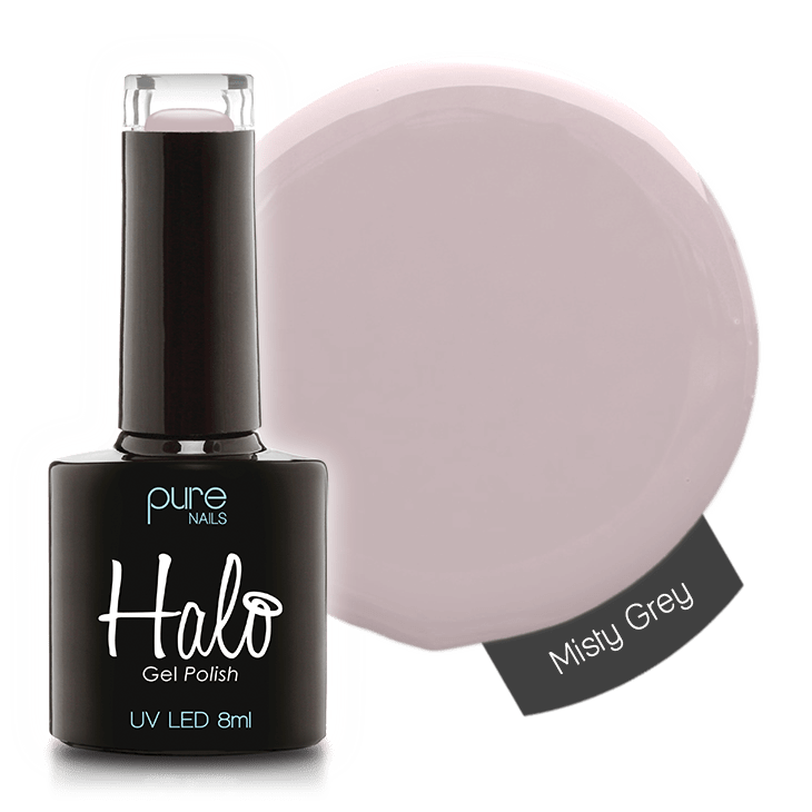Halo Gel Polish 8ml Misty Grey