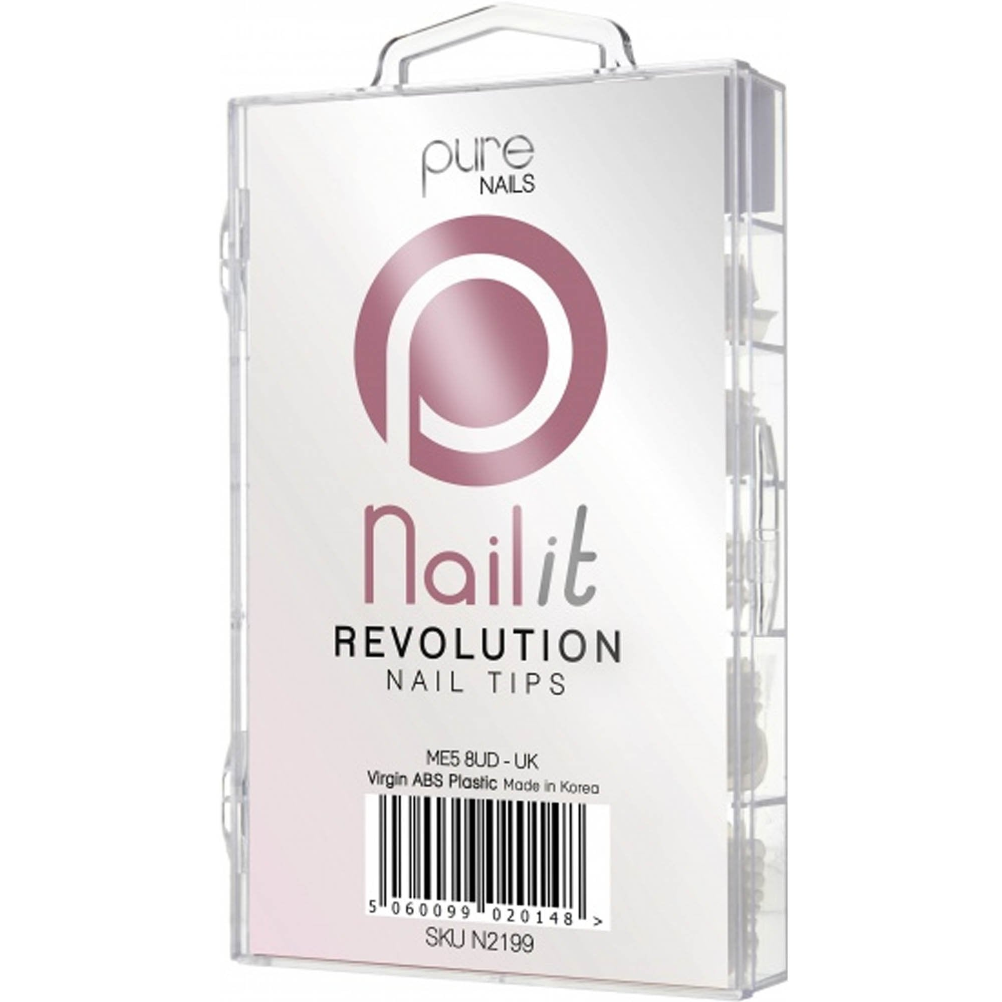 Pure Nails Revolution Nail Tips Mixed 100 St