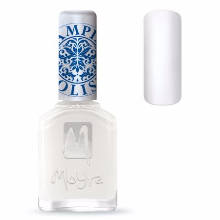Moyra Stamping Nail Polish Sp07 White