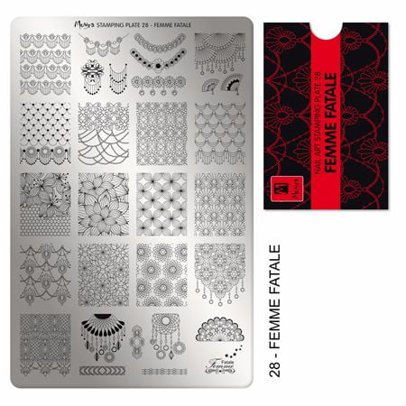 Moyra Stamping Plate Femme Fatale 28