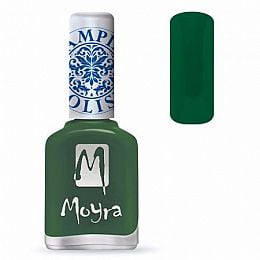 Moyra Stamping Nail Polish Sp14 Dark Green