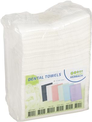 Merbach Dental Towel Wit 3lgs Pap/PE 1x125st