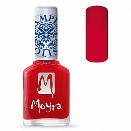 Moyra Stamping Nail Polish Sp02 Red
