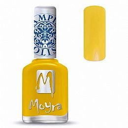 Moyra Stamping Nail Polish Sp12 Yellow