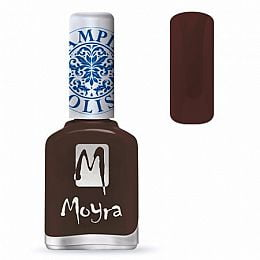 Moyra Stamping Nail Polish Sp13 Dark Brown