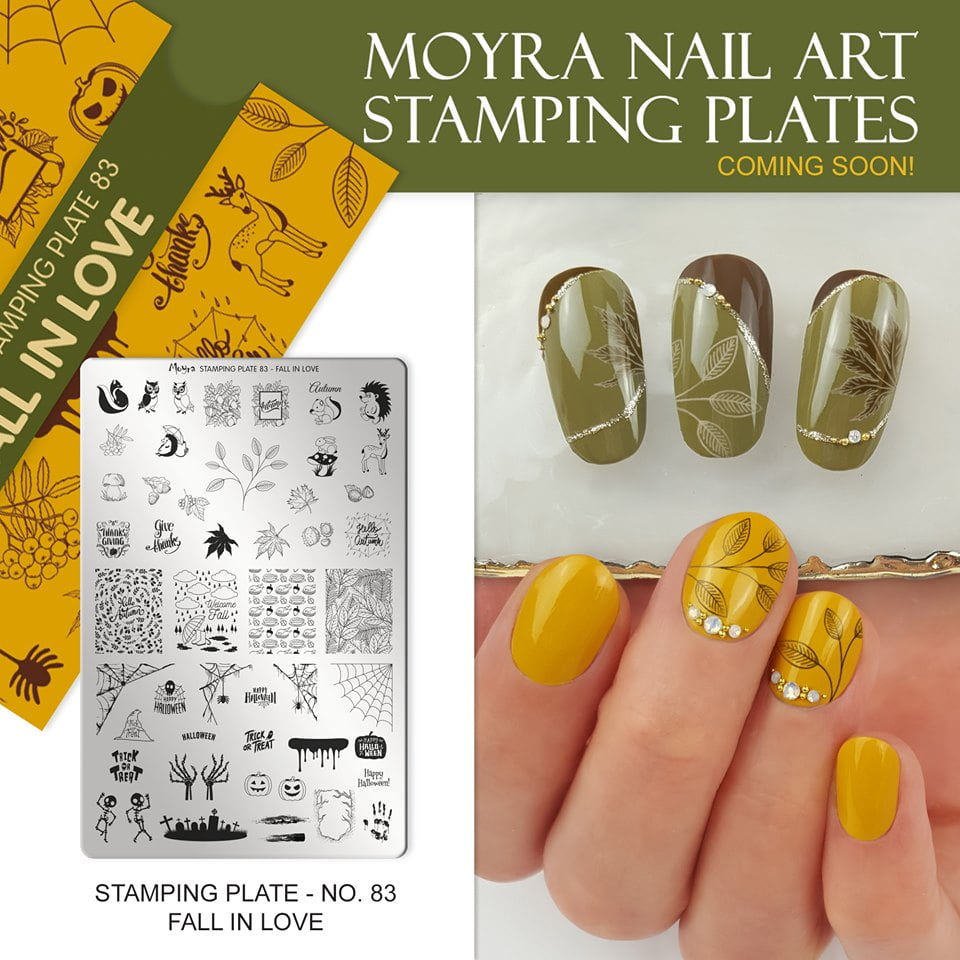 Moyra Stamping Plate 083 Fall In Love