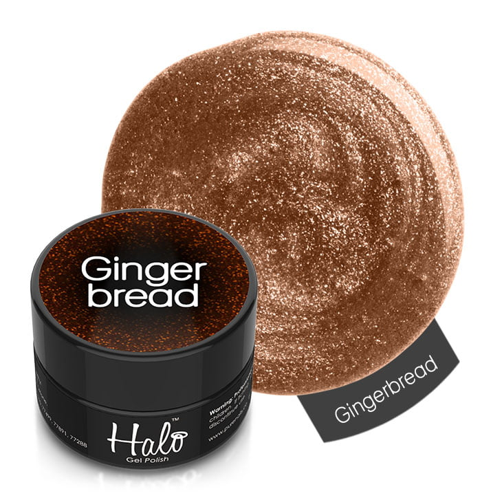 Halo Gel Polish Gingerbread