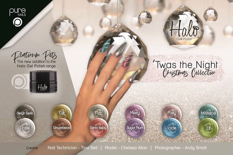 Twas The Night Christmas Collection (12 Stuks) + Gratis Penseel