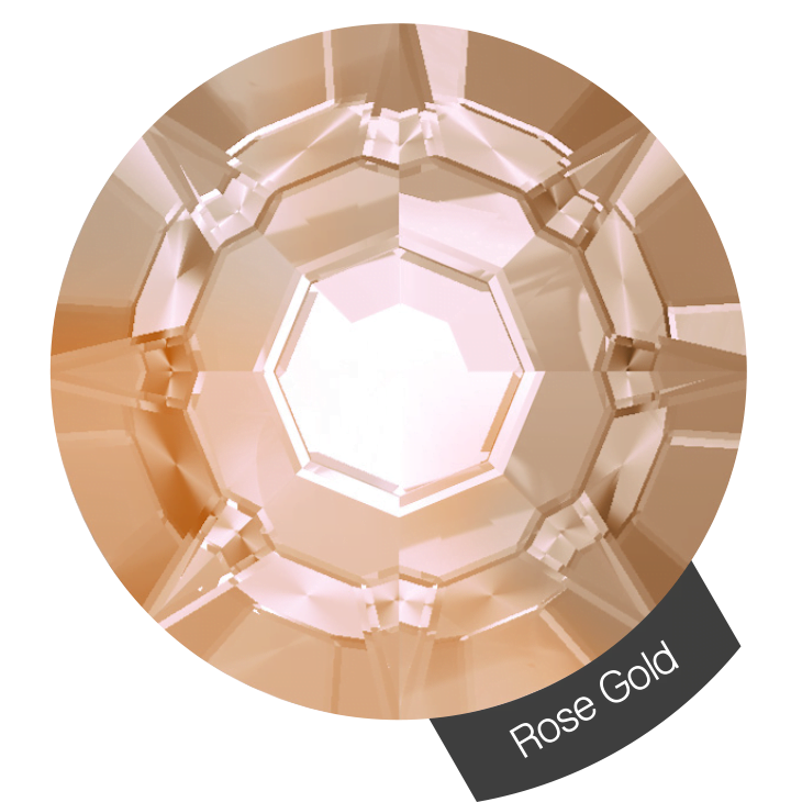 Halo Create – Crystals Rose Gold Size 2, 288s